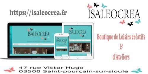 Responsive Site Isaleocrea 500x250
