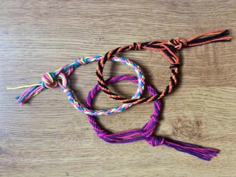 Bracelet Kumihino Atelier Enfant Isaleocrea